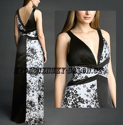Фото комбинированное вечернее платье